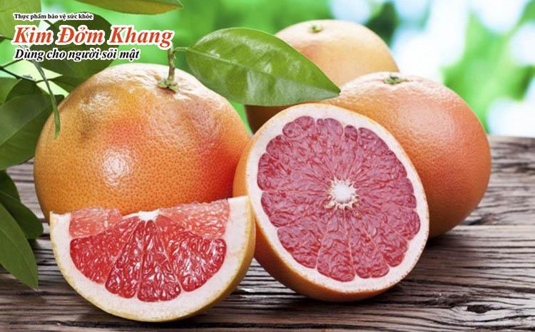 Trái cây giàu vitamin C rất tốt cho sức khỏe gan mật