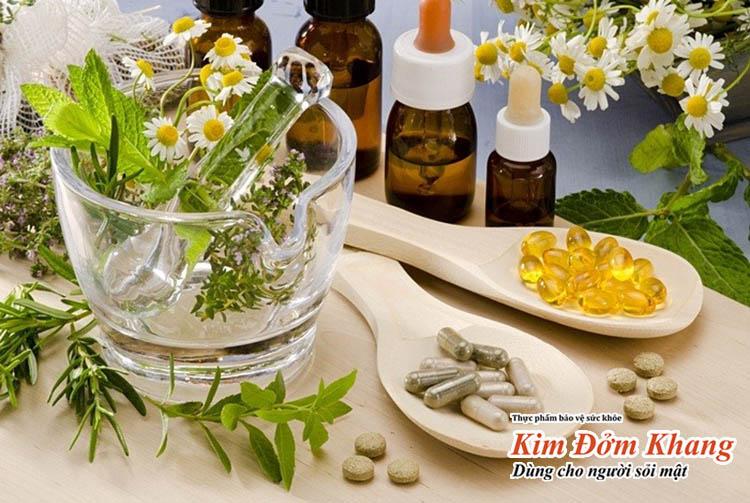 Sử dụng thảo dược trị viêm túi mật là giải pháp được nhiều người lựa chọn