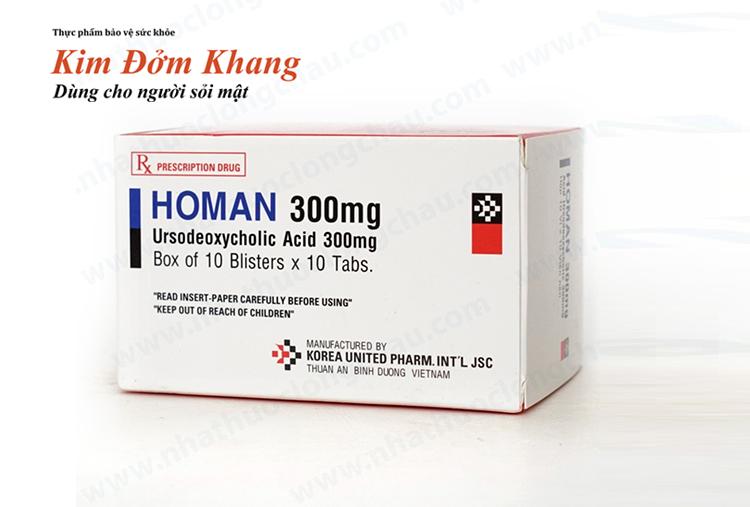 Acid ursodeoxycholic là thuốc hòa tan sỏi mật.