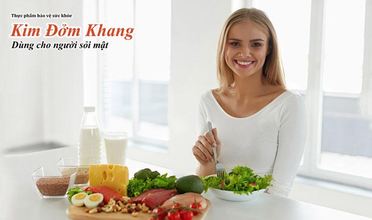 Người bệnh cần chú ý chế độ ăn uống để phòng biến chứng sau mổ cắt túi mật