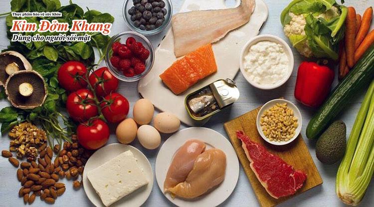 Chế độ ăn uống hợp lý rất cần thiết cho người viêm túi mật