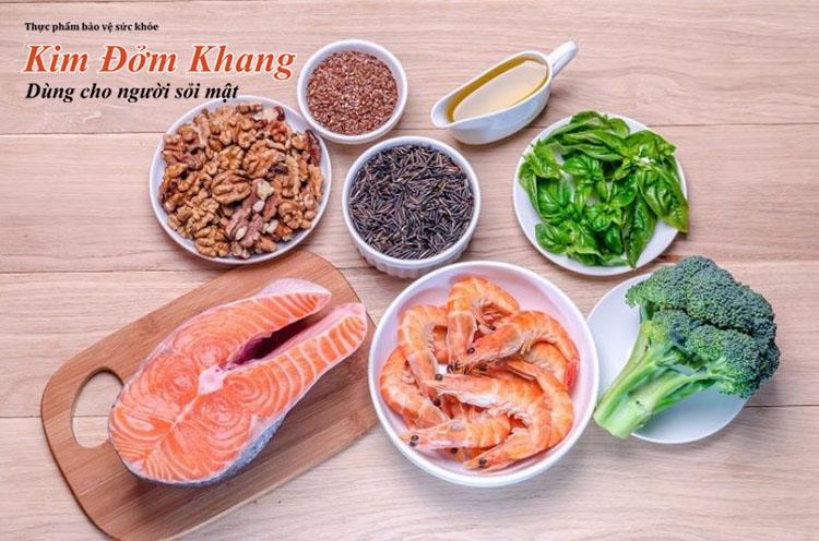 Danh sách các thực phẩm lành mạnh người bị sỏi bùn túi mật nên ăn thường xuyên