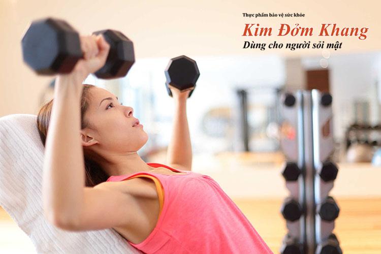 Tập thể dục có thể giúp phụ nữ ngăn ngừa sỏi mật