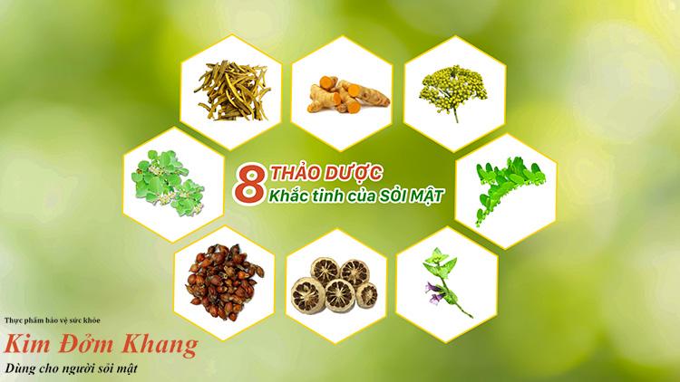 8 loại thảo dược tốt cho người bệnh sỏi mật
