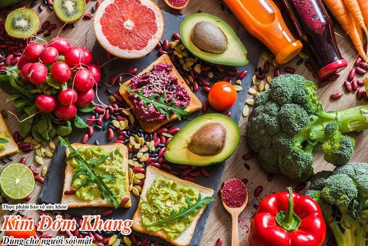 Bị sỏi mật nên ăn nhiều rau xanh