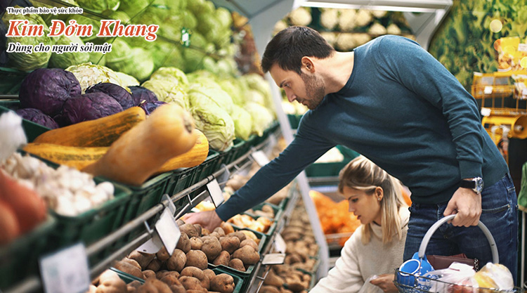 Chế độ ăn đóng vai trò quan trọng đối với sức khỏe người bị sỏi mật