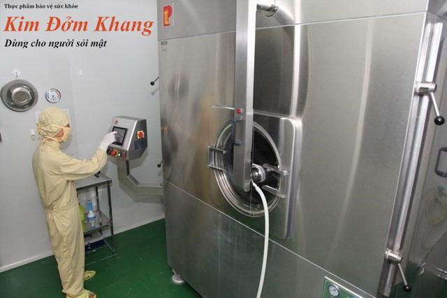 TPBVSK Kim Đởm Khang được sản xuất với quy trình hiện đại