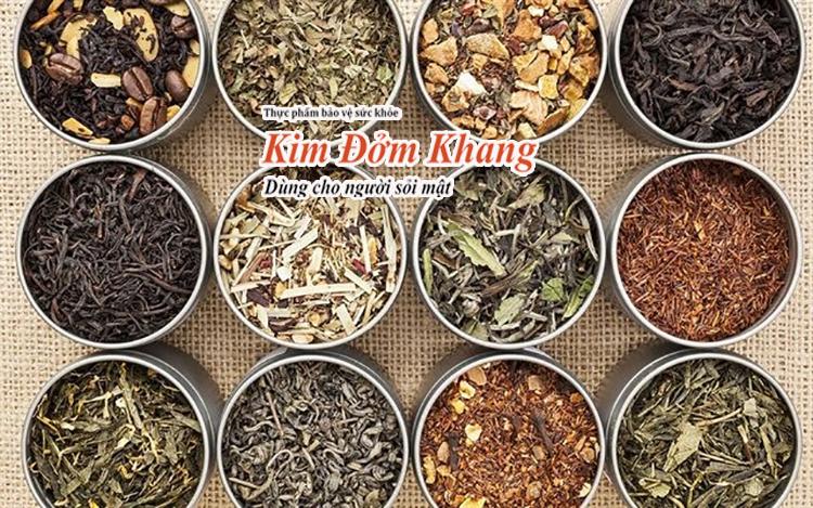 Các loại thảo dược kết hợp với nhau tạo nên công thức hoàn hảo trị sỏi mật