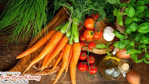 Ăn nhiều rau củ quả giúp giảm cholesterol, tốt cho gan mật