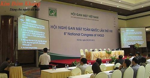 Báo cáo nghiên cứu Kim Đởm Khang trong hội nghị gan mật toàn quốc 2013
