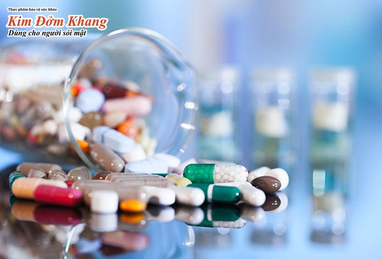 Mỗi loại thuốc trị sỏi mật sẽ có ưu nhược điểm riêng