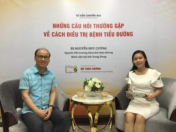 BS Nguyễn Huy Cường - Nguyên Phó trưởng khoa Đái tháo đường Bệnh viện Nội tiết TW