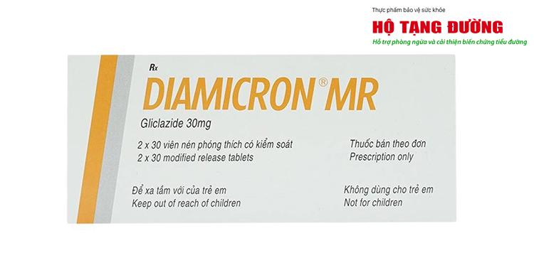 Tác dụng phụ thường gặp nhất của Diamicron là hạ đường huyết và rối loạn tiêu hóa.