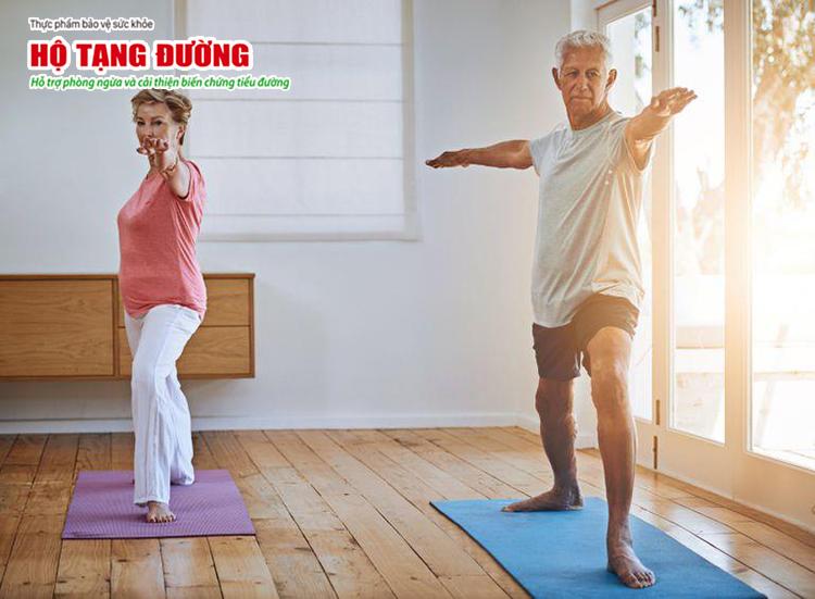 Tập thể dục thường xuyên giúp ổn định đường huyết và tăng cường miễn dịch
