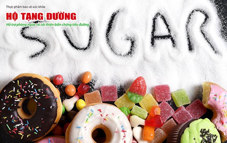 Không chỉ người bệnh tiểu đường, người bị gout cũng nên hạn chế thực phẩm nhiều đường.