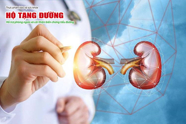 Kiểm soát huyết áp sẽ giúp ngăn ngừa tổn thương thận do biến chứng mạch máu của bệnh tiểu đường.