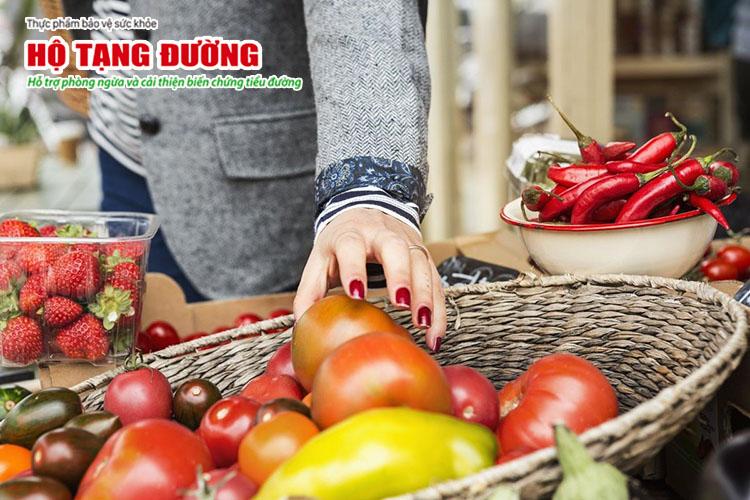 Người bệnh gout và tiểu đường cần thận trọng trong chế độ ăn.