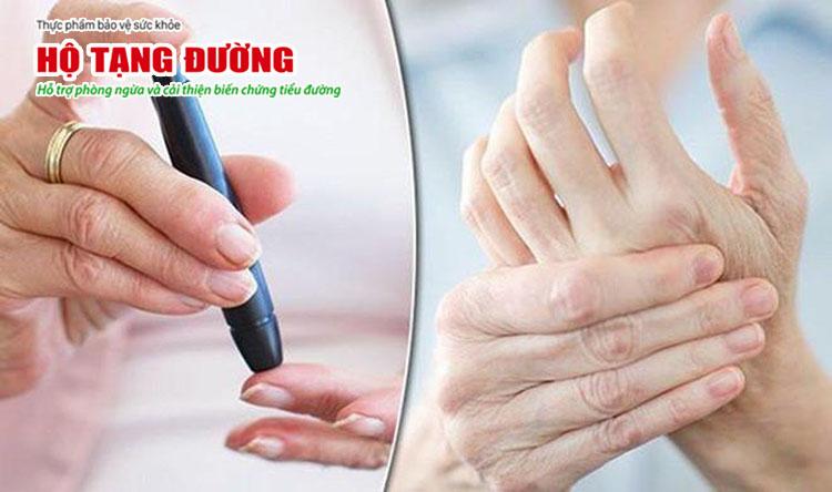 Tê bì chân tay thường là biến chứng xuất hiện sớm nhất của bệnh tiểu đường.