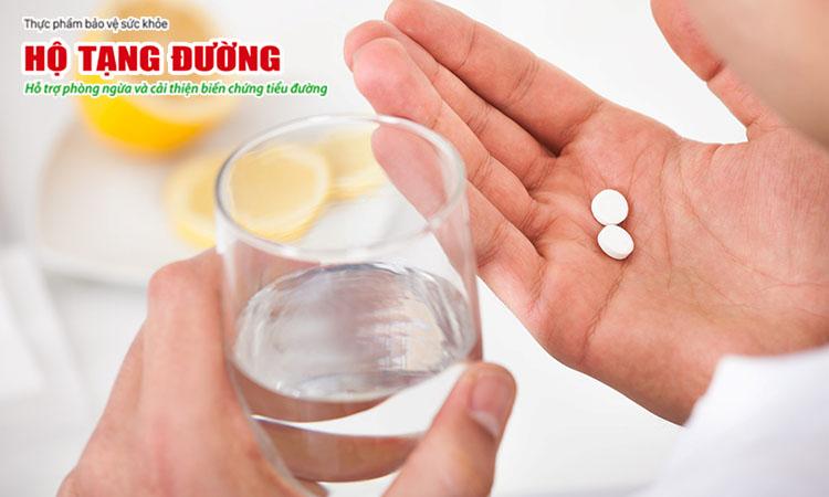 Thuốc ức chế men chuyển có thể giúp trì hoãn bệnh thận đái tháo đường.