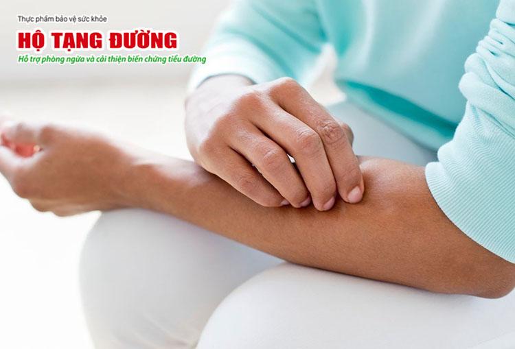 Biến chứng tiểu đường ở da là tập hợp các vấn đề về da do bệnh tiểu đường.