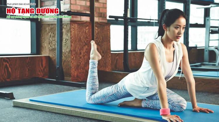 Đừng quên tập thể dục đều đặn cũng là cách ách hạ đường huyết hiệu quả