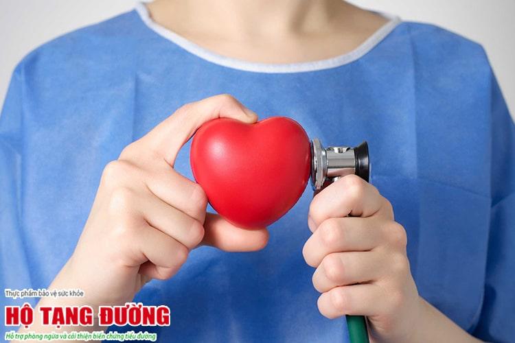 Bệnh tiểu đường có thể gây biến chứng trên tim mạch.