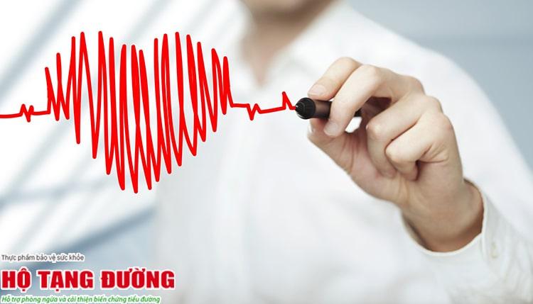 Biến chứng tim mạch gây giảm tuổi thọ của người bệnh tiểu đường.