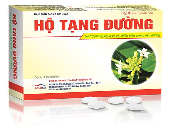 Hộ Tạng Đường - thực phẩm chức năng cho người tiểu đường.