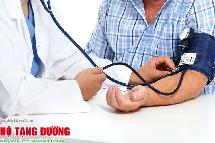 Người bệnh tiểu đường bị tăng huyết áp dễ bị biến chứng và tử vong.