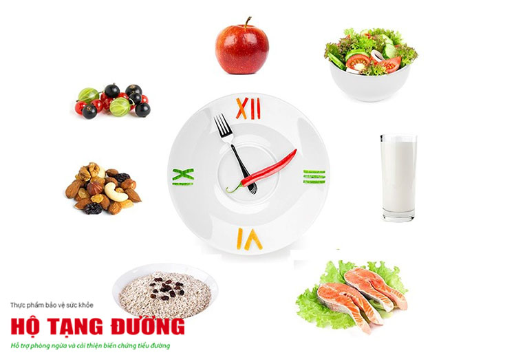 Người tiểu đường và cao huyết áp cần có 1 thực đơn ăn uống khoa học.