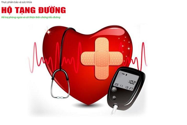 Phòng ngừa biến chứng tim mạch là 1 mục tiêu quan trọng với người bệnh tiểu đường.