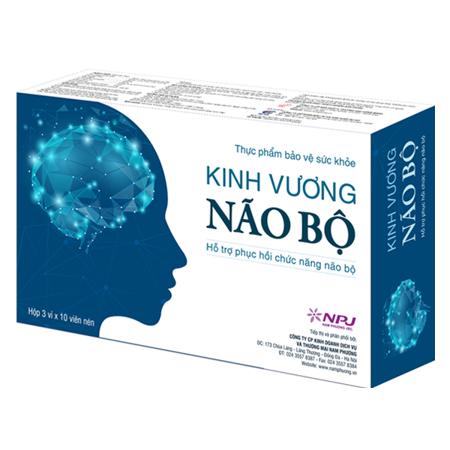Kinh Vương Não Bộ - Sản phẩm giúp đẩy lùi di chứng não
