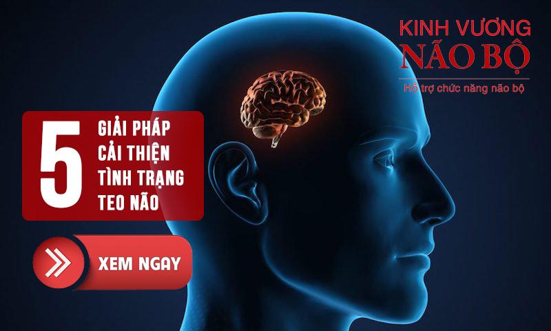 Người bị teo não phải làm sao để cải thiện? Xem ngay 5 giải pháp sau đây!