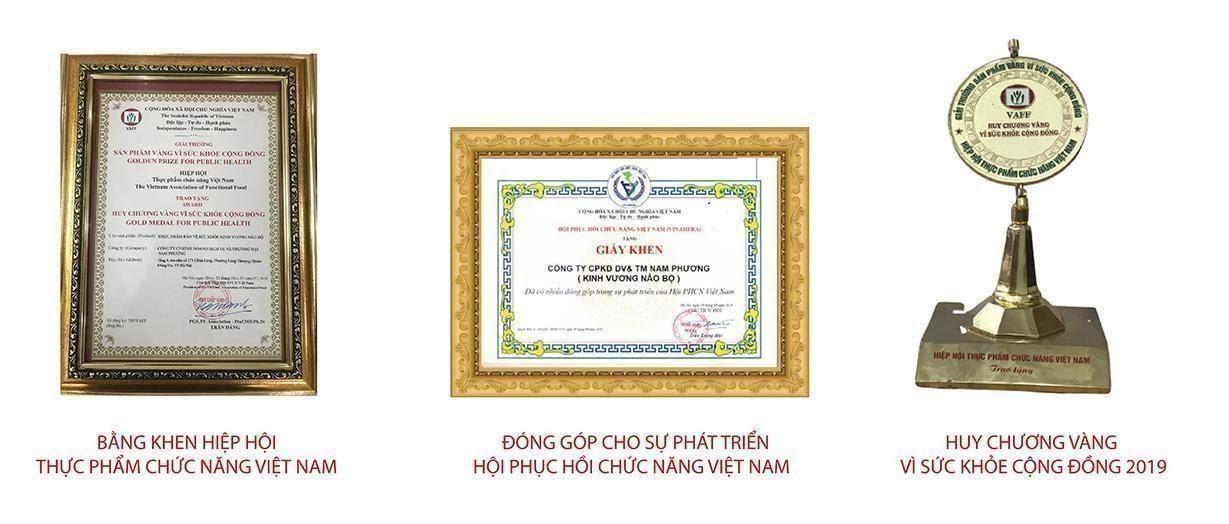 Kinh Vương Não Bộ vinh dự nhận các danh hiệu của nhà nước trao tặng