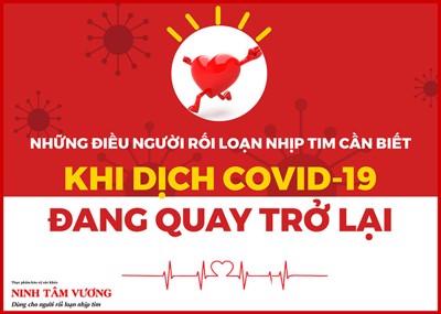 Dịch Covid-19 quay trở lại, người bị nhịp tim nhanh cần biết những điều này
