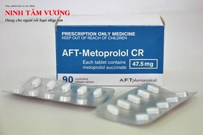 Cách dùng thuốc Metoprolol trị tim đập nhanh [Cực chi tiết]