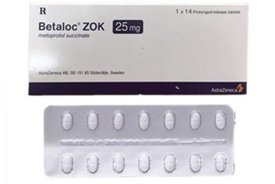 Cách dùng thuốc Betaloc ZOK tránh loạn nhịp tim, tụt huyết áp