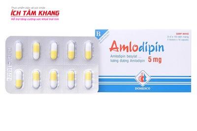 Mọi điều về Amlodipin và lưu ý buộc phải nhớ khi sử dụng