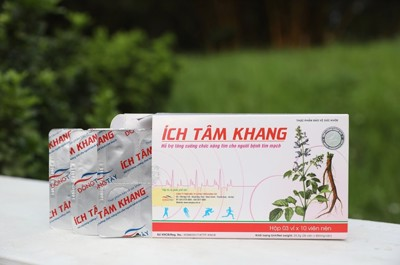 Thực phẩm bảo vệ sức khỏe Ích Tâm Khang được sản xuất ở đâu?