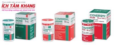 Cách dùng thuốc Coversyl trị tăng huyết áp đầy đủ và chi tiết nhất