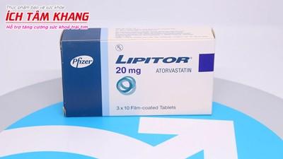 Cách dùng thuốc giảm mỡ máu Atorvastatin (Lipitor) hiệu quả cao