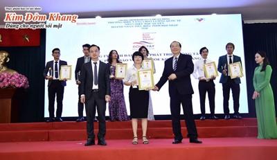 """TPBVSK Kim Đởm Khang đạt chứng nhận """"Thương hiệu vàng chất lượng quốc tế"""" năm 2020"""