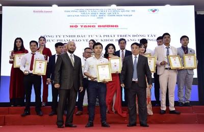 """TPBVSK Hộ Tạng Đường xuất sắc nhận giải """"Thương hiệu vàng chất lượng quốc tế 2020"""""""
