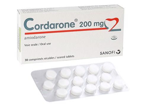 7 Điều cần nhớ khi dùng thuốc Cordarone trị rối loạn nhịp tim